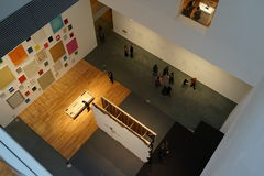El museo de Art October moderno 2015 57 Fotos de archivo libres de regalías
