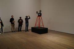 El museo de Art October moderno 2015 78 Imágenes de archivo libres de regalías