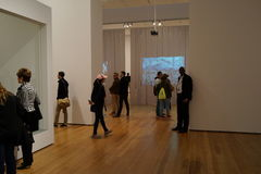 El museo de Art October moderno 2015 79 Fotos de archivo libres de regalías