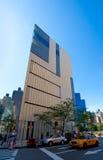 El museo de arte y el diseño (ENOJADOS) en Nueva York Foto de archivo libre de regalías