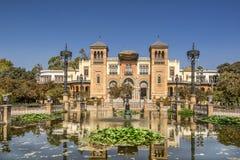 El museo de artes y de tradiciones de Sevilla foto de archivo libre de regalías