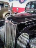 El museo de coches retros en la región de Moscú de Rusia Imagen de archivo