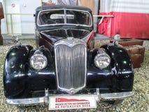El museo de coches retros en la región de Moscú de Rusia Imagen de archivo libre de regalías