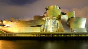 El museo de Guggenheim en Bilbao Fotos de archivo