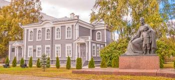 El museo de la casa de la familia de Ulyanov Fotos de archivo