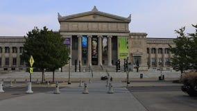 El museo de la ciencia y de la industria en Chicago almacen de metraje de vídeo