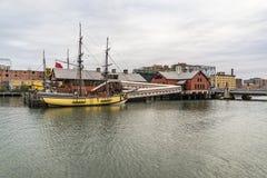 El museo de la fiesta del té de Boston Fotos de archivo libres de regalías