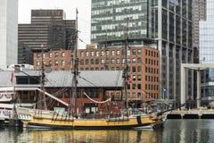 El museo de la fiesta del té de Boston Imagen de archivo libre de regalías