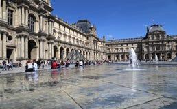 El museo de la lumbrera en París, Francia imagen de archivo libre de regalías
