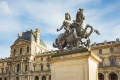El museo de la lumbrera en París, Francia fotos de archivo libres de regalías