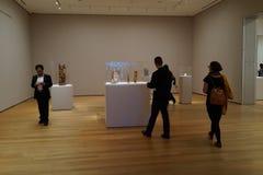 El museo de la parte moderna 2 36 de Art October 2015 Imagenes de archivo