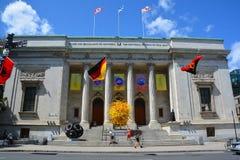 El museo de Montreal de bellas arte foto de archivo