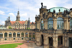 El museo de Zwinger en Dresden, Alemania Imagen de archivo libre de regalías