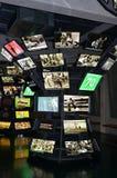 El museo del fútbol es un espacio dedicado a los diversos temas que implican la práctica, la historia y el cur, Sao Paulo, Brazi fotografía de archivo libre de regalías