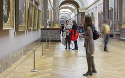 El museo del Louvre Fotos de archivo