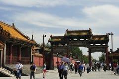 El museo del palacio de Shenyang fotografía de archivo