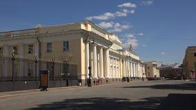 El museo etnográfico en St Petersburg 4K almacen de video