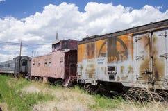 El museo ferroviario del pueblo Imágenes de archivo libres de regalías