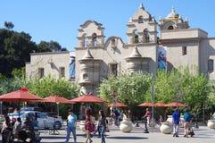 El museo internacional de Mingei en el parque del balboa, San Diego Foto de archivo