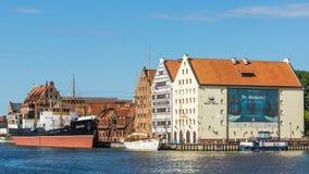 El museo marítimo polaco foto de archivo libre de regalías