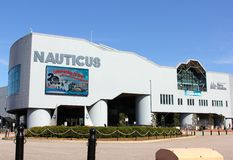 El museo militar naval de Nauticus Foto de archivo