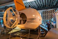 El Museo Nacional de la ciencia emergente en Odaiba Imagen de archivo libre de regalías