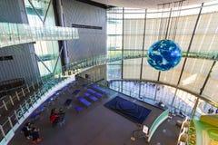 El Museo Nacional de la ciencia emergente en Odaiba Fotografía de archivo