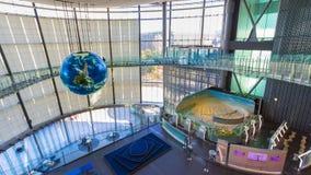 El Museo Nacional de la ciencia y de la innovación emergentes Imagenes de archivo