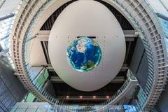 El Museo Nacional de la ciencia y de la innovación emergentes Foto de archivo libre de regalías