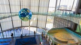 El Museo Nacional de la ciencia y de la innovación emergentes emergentes en Odaiba, Tokio Fotografía de archivo