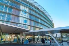 El Museo Nacional de la ciencia y de la innovación emergentes emergentes en Odaiba, Tokio Foto de archivo libre de regalías