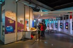 El Museo Nacional de la ciencia y de la innovación emergentes emergentes en Odaiba, Tokio Fotos de archivo