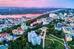 El Museo Nacional de la historia de Ucrania en Kiev imagen de archivo