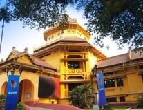 El Museo Nacional de la historia vietnamita (Bao Tang Lich Su), Hanoi, Vietnam. fotografía de archivo libre de regalías