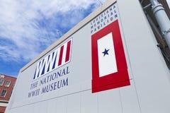 El museo nacional de la Segunda Guerra Mundial Imagen de archivo