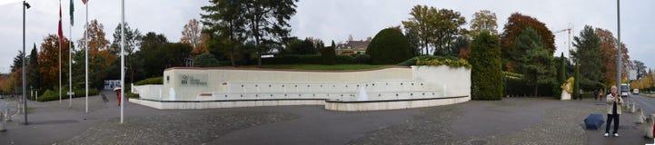 El museo olímpico en Lausanne Foto de archivo
