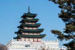 El museo popular nacional de Corea el 11 de enero de 2016 en Seul, Corea del Sur Imagenes de archivo