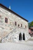 El museo Strondheim del palacio del arzobispo Imágenes de archivo libres de regalías