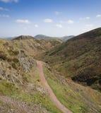 El Mynd largo Shropshire Fotografía de archivo libre de regalías