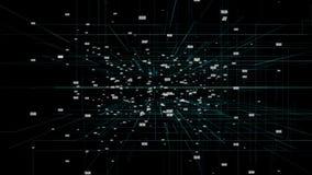 El número de fondo de HUD ilustración del vector