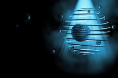 El nacimiento del universo ilustración del vector