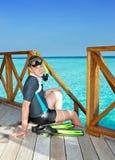 El nadador Fotos de archivo libres de regalías