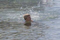 El nadar en el Mar Rojo Fotografía de archivo libre de regalías