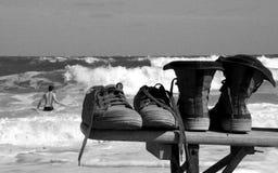 El nadar ido Fotos de archivo libres de regalías