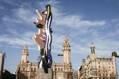 El nakrętka de Barcelona Roy Lichtenstein Obraz Stock