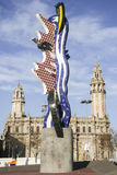 El nakrętka de Barcelona Roy Lichtenstein Obrazy Stock