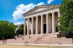 El National Gallery del arte en la alameda nacional en Washington D C Imagen de archivo libre de regalías