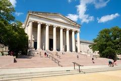 El National Gallery del arte en la alameda nacional en Washington D C Imagen de archivo
