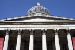 El National Gallery en Londres. Fotografía de archivo libre de regalías