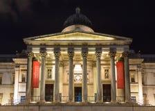 El National Gallery en Londres Imagen de archivo libre de regalías